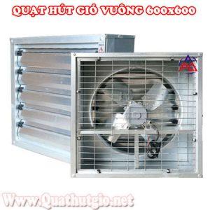 Quạt thông gió vuông công nghiệp 600x600