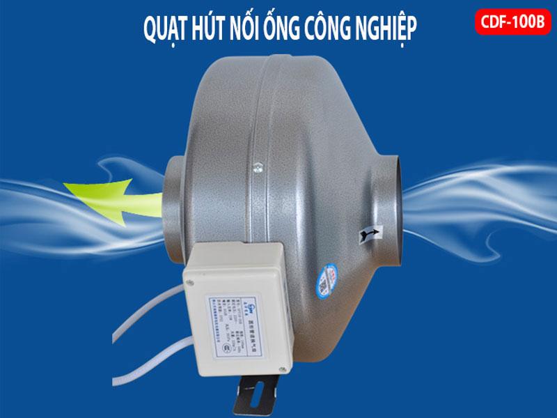 Quạt ly tâm nối ống Deton CDF 100B
