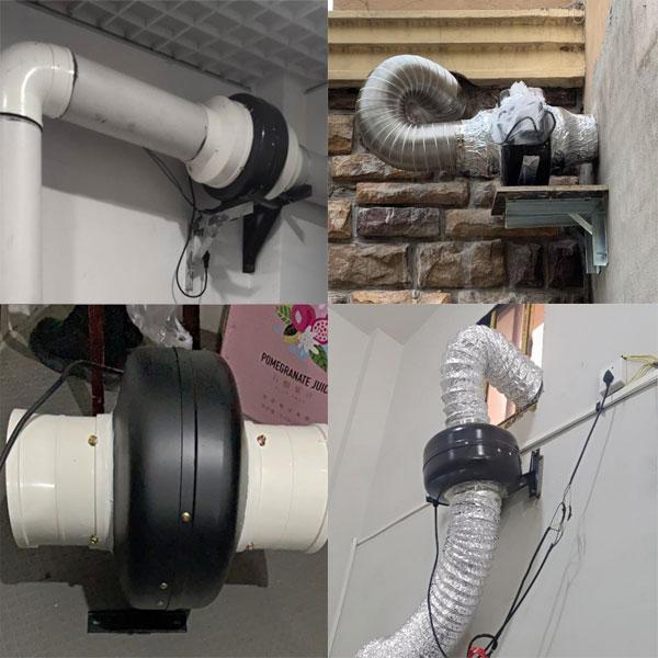Quạt ly tâm nối ống Deton CDF 150B