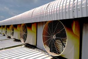 Quạt thông gió công nghiệp được ứng dụng trong đời sống ?